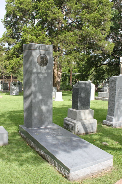 Barbara Jordan Monument, Texas State Cemetery, Austin TX