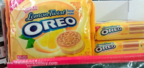 Limited Edition Lemon Twist Oreo