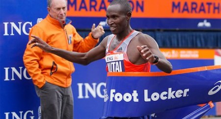 Mutai ganador Maratón de Nueva York 2013
