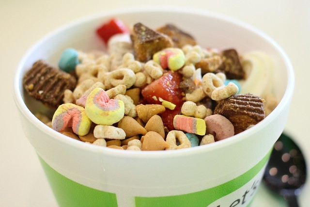 froyo for lunch