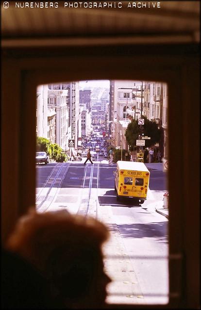 WmN#0113-00017 Streetcar View San Francisco 1985