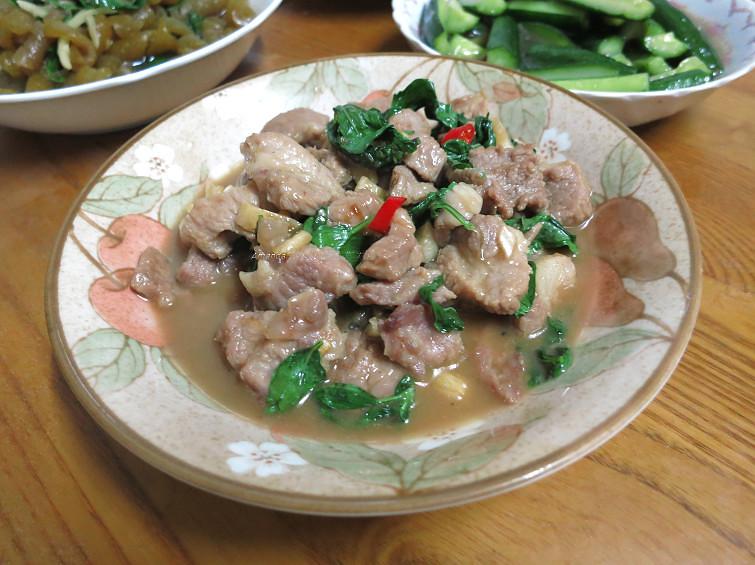 蠔油醬炒肉