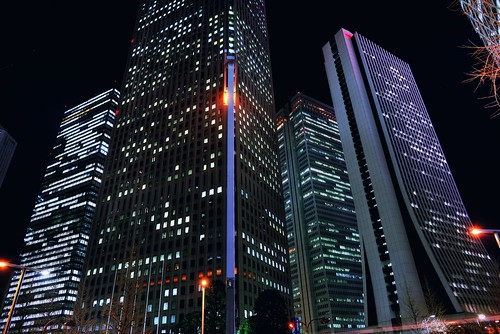 Shinjuku High-Rises by hidesax