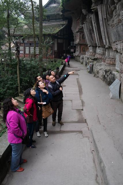 Dazu Buddhist Cave day tour, Chongqing, China