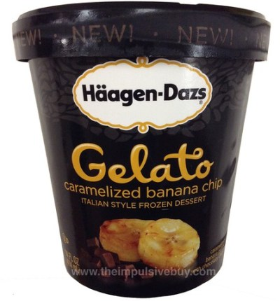 Ha?agen-Dazs Caramelized Banana Chip Gelato