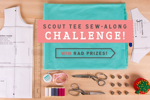 Scout Tee Sew-Along Challenge!