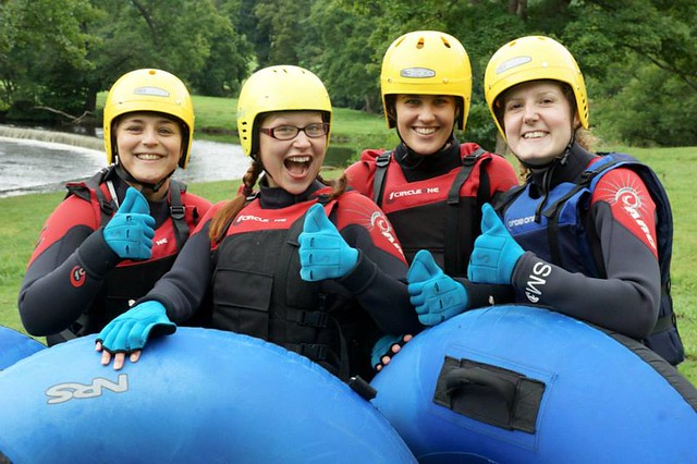 Whitewater Tubing Llangollen