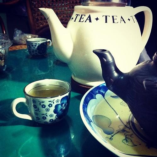 換個地方泡茶