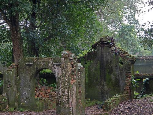 The Grounds at Emperor Tu Duc's Tomb in Hue, Vietnam