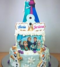 'Frozen' Cake