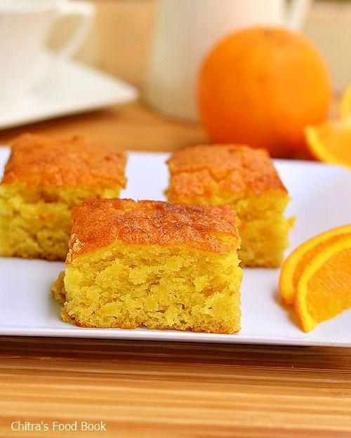 Vegan Cake Recipes, Eggless Orange Cake