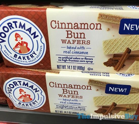 Voortman Bakery Cinnamon Bun Wafers