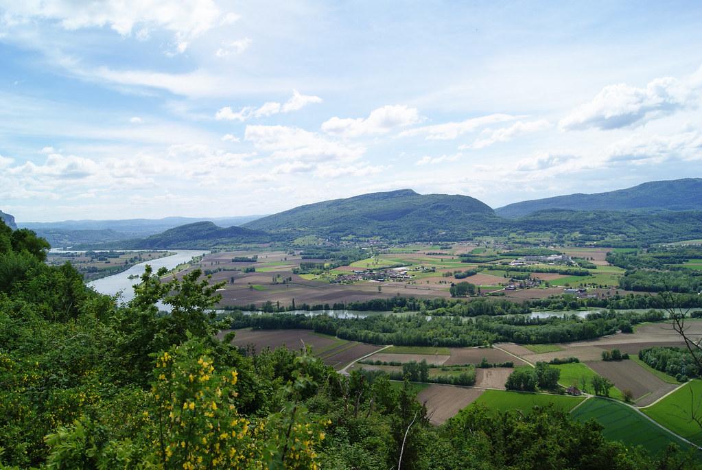 La montagne d'Izieu depuis la Savoie