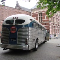 Another American Bus in Utrecht