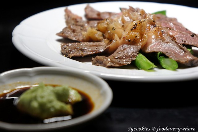 9.Chapter one- Chapter One Sliced beef RM 18- Grilled Angus Beef with Japanese soya sauce topped with Wasabi (2) (47)