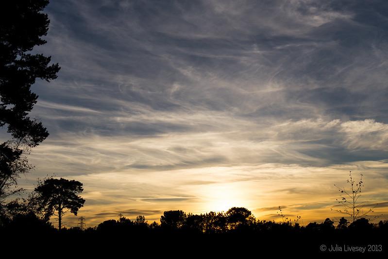 Sunset, Upton Heath