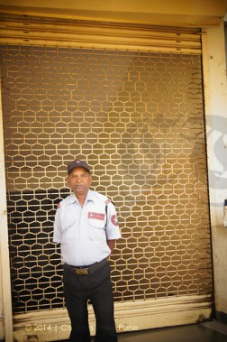 engineering-college-PCCOE-watchman-guarding-the-gate-for-late-comers