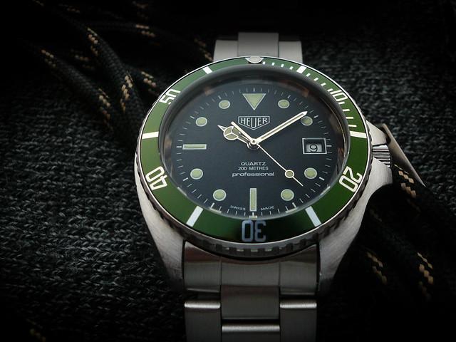 Heuer Diver LV Custom