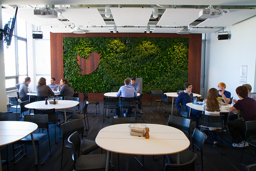 Twitter HQ: Living Wall