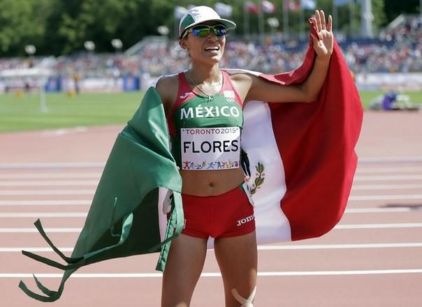 Brenda Flores se cuelga plata en atletismo de JP