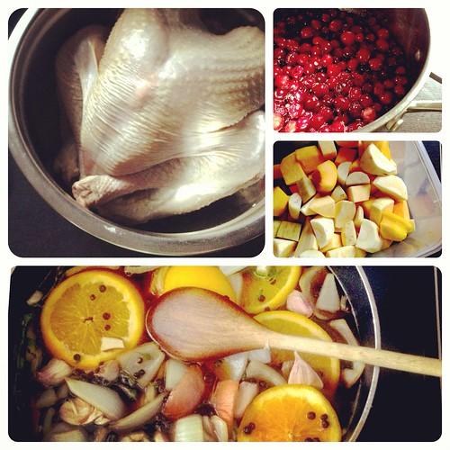 Turkey Day Preparations
