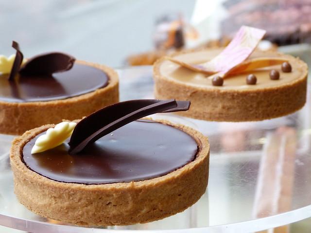 Tartes au chocolat - Didier Fourreau