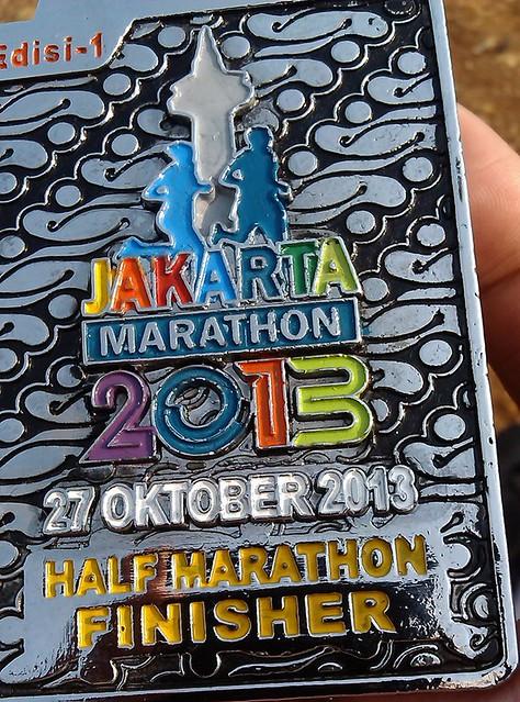 maraton jakarta medali
