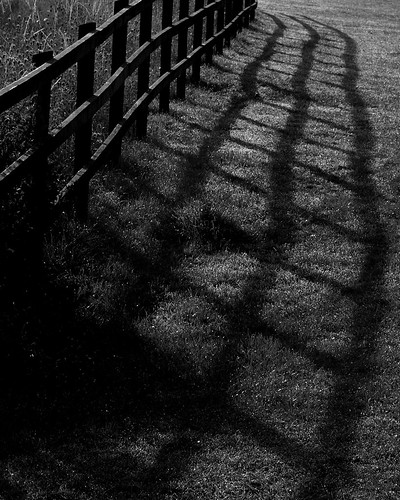 20130807-26_Fence + Shadows - B+W by gary.hadden