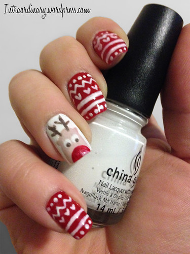 Rudolph Nails by intraordinary