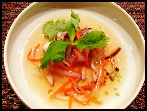 "Red Snapper ""Soup"""