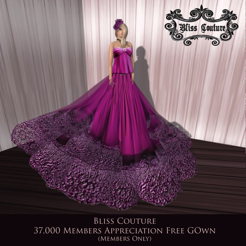 Bliss Couture Free Gown Ad