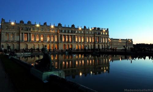 Château de Versailles au couchant by Mademoiselle MV