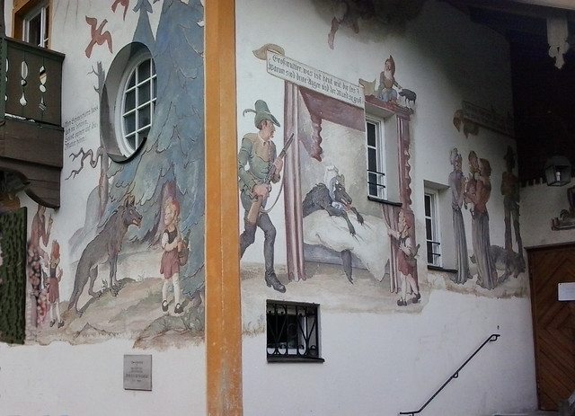 Fachada Cuento de Caperucita, Oberammergau
