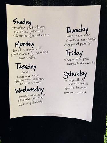 Week of October 20