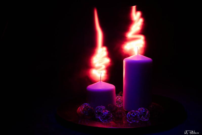 xmas candels II
