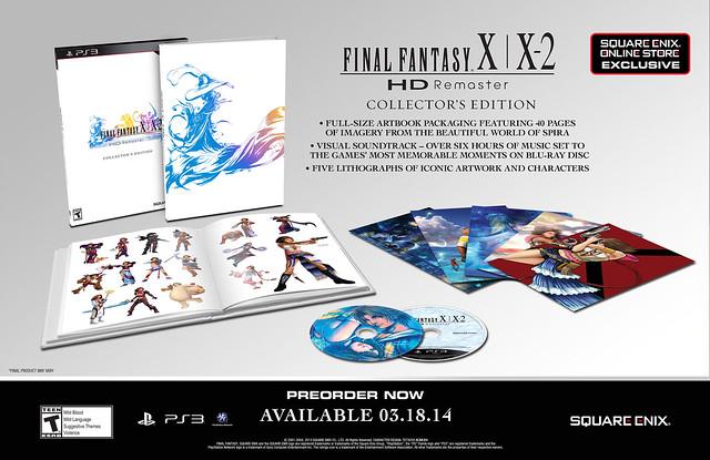 Final Fantasy X | X-2 HD Remaster Collector's Edition