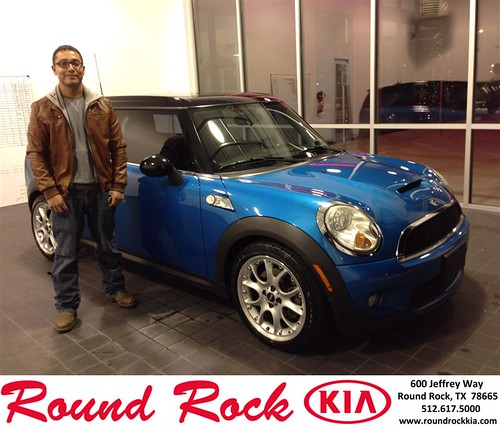 Thank you to Edgar  Delgado  on your new 2008 #Mini #Cooper Clubman from Marissa Garza and everyone at Round Rock Kia! #NewCarSmell by RoundRockKia