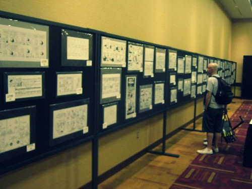 Comic Exhibit at Indy PopCon 2014