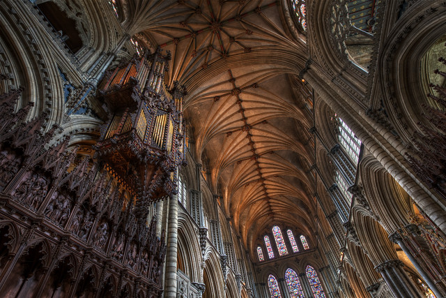Ely Cathedral - HDR 'Enhanced' Preset