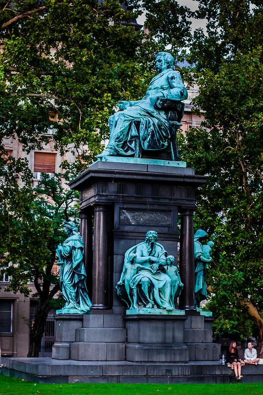 Huge Budapest Statues, Hungary