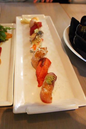 Premium Aburi Sushi Plate