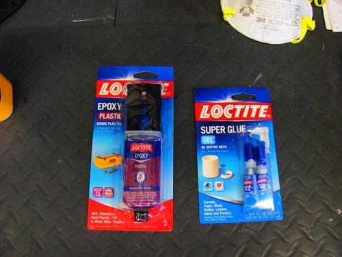 Plastic Epoxy & Super Glue
