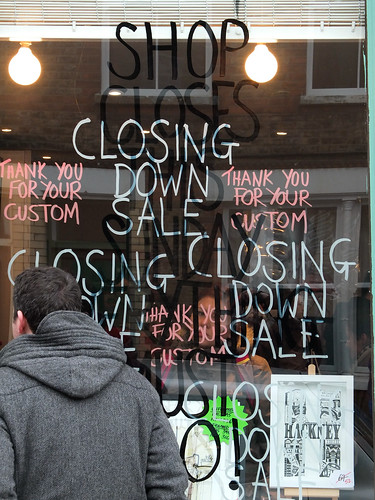 Shop closes this Sunday by Simon Sharville