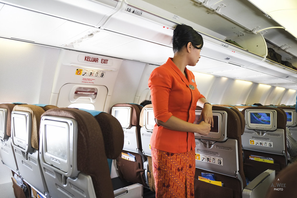Garuda Indonesia Flight Attendant
