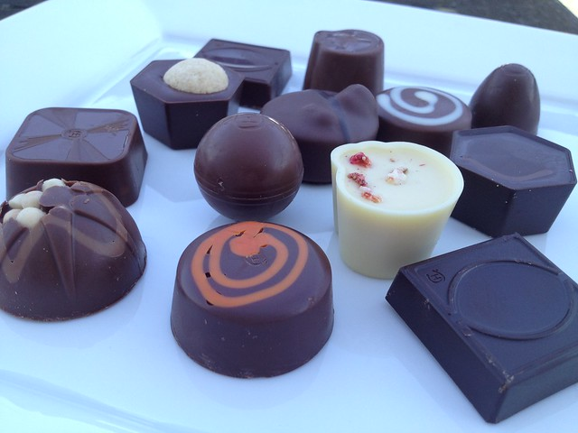 Assorted chocolates - Hotel Chocolat