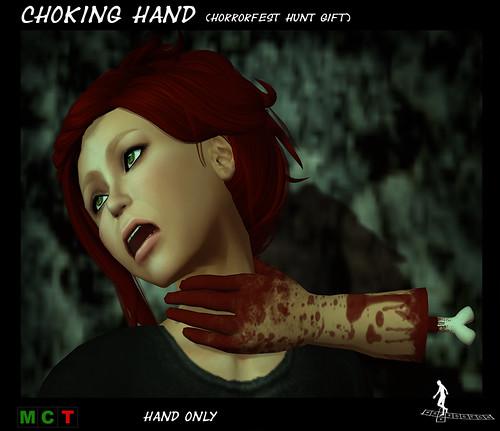 Choking hand