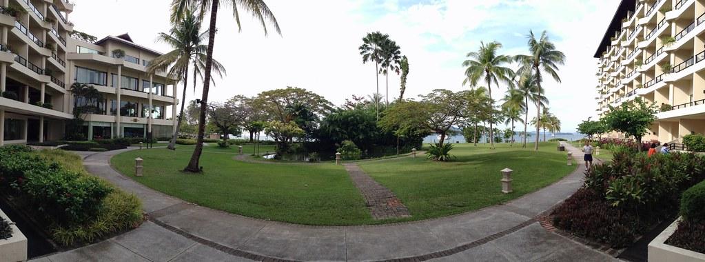 Garden Panorama in the Kinabalu Wing