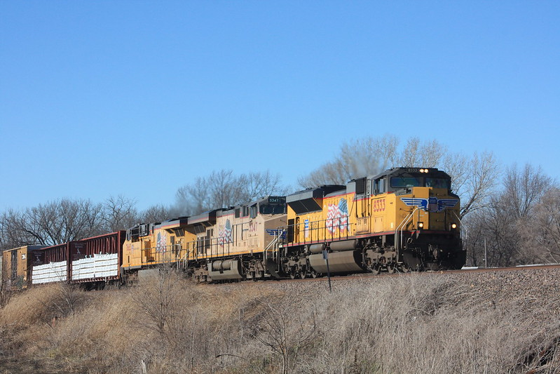 A Saturday on the Union Pacific
