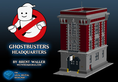 Ghostbusters HQ LDD File by Brent Waller