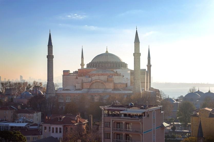 Hagia Sophia at Sunrise.